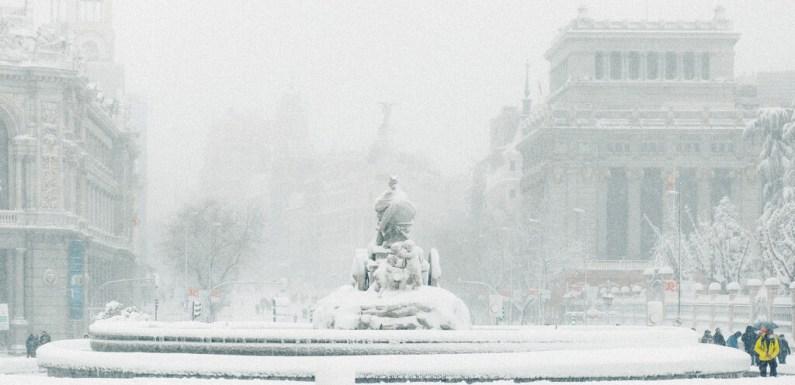 Espectaculares fotos de la nieve en Madrid tras la borrasca Filomena, por Juanma Jmse