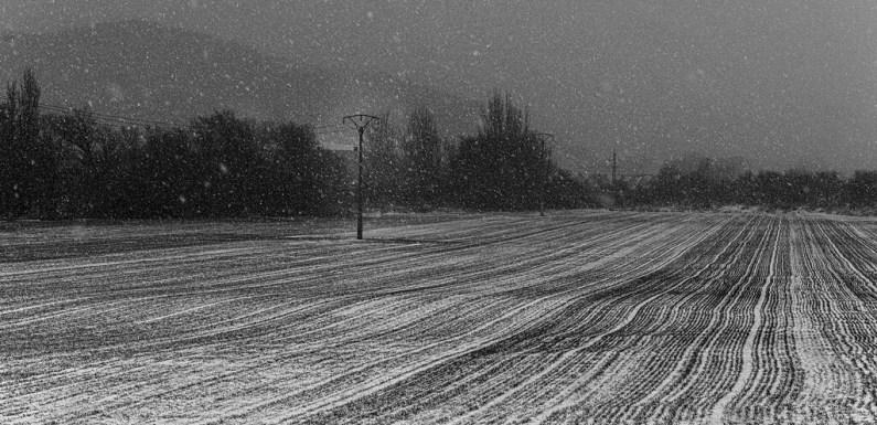 Cómo revelar en blanco y negro las fotografías de las nevadas que estamos haciendo