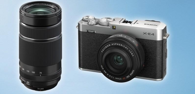 Fujifilm X-E4, Fujinon XF 27mm F2.8 R WR y XF 70-300mm F4-5.6 R LM OIS WR, nueva cámara «callejera» y objetivos para la Serie X de mirrorless APS-C