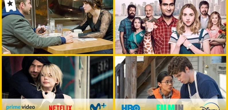 Las mejores películas románticas (pero poco convencionales) para ver en Netflix, Amazon, HBO, Disney+, Filmin y Movistar+