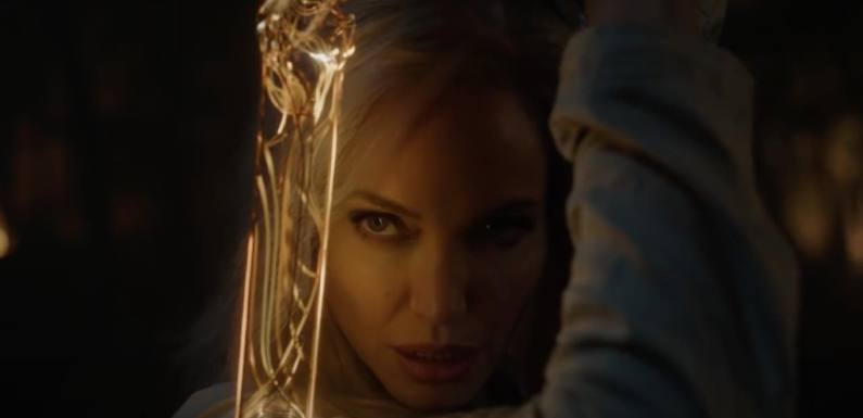 'Eternals': ¿Qué es la extraña espada de Angelina Jolie?