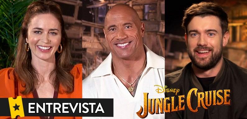 Emily Blunt: «Rodar 'Jungle Cruise' ha sido como vivir en el país de Nunca Jamás»
