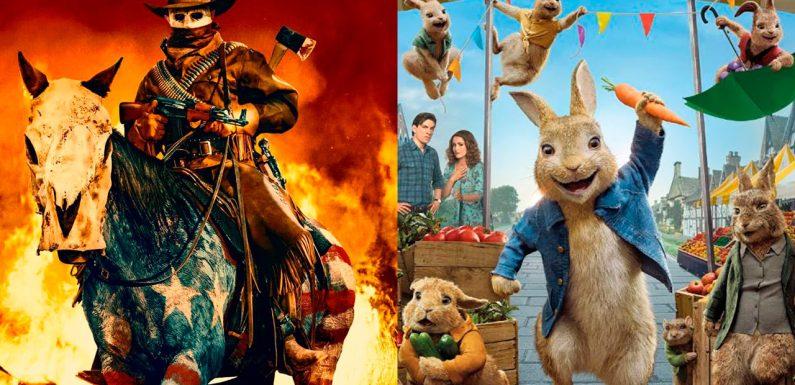 'La purga infinita' y 'Peter Rabbit 2: A la fuga', entre los estrenos de cine destacados del fin de semana