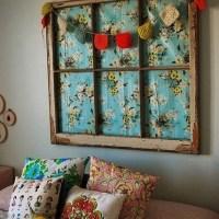 8 idées déco pour recycler une vieille fenêtre