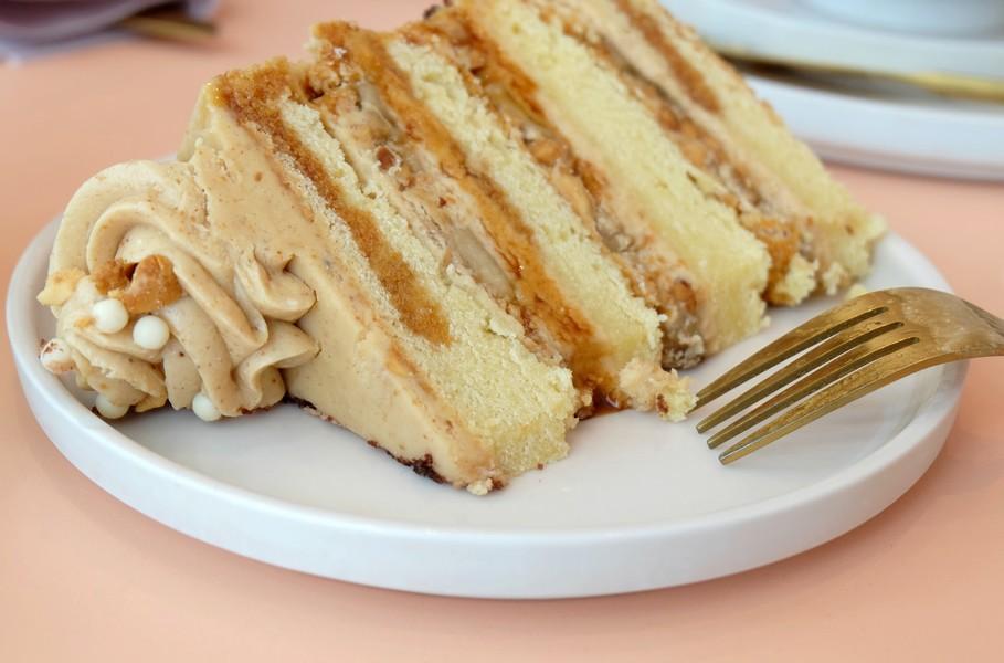 Layer cake à la banane
