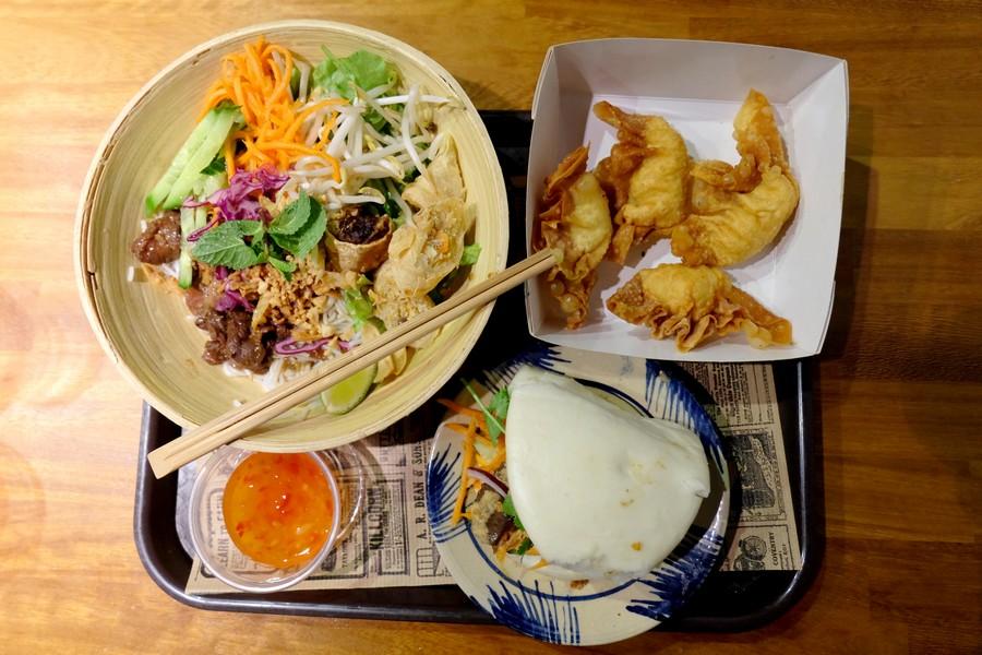 Bo-bun, raviolis et bao