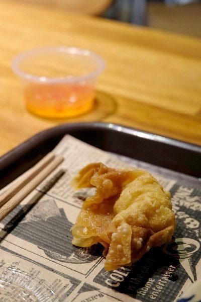 Raviolis aux crevettes et au poulet