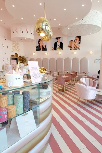 Vitrine de Bad Girls Good Cakes