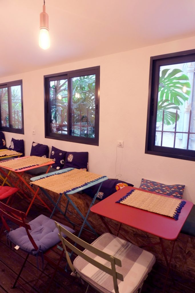 Salle du restaurant Maïdo à Nice