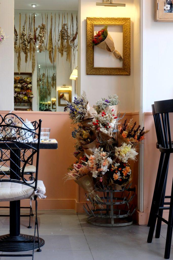 Bouquets de fleurs du Café Brindille