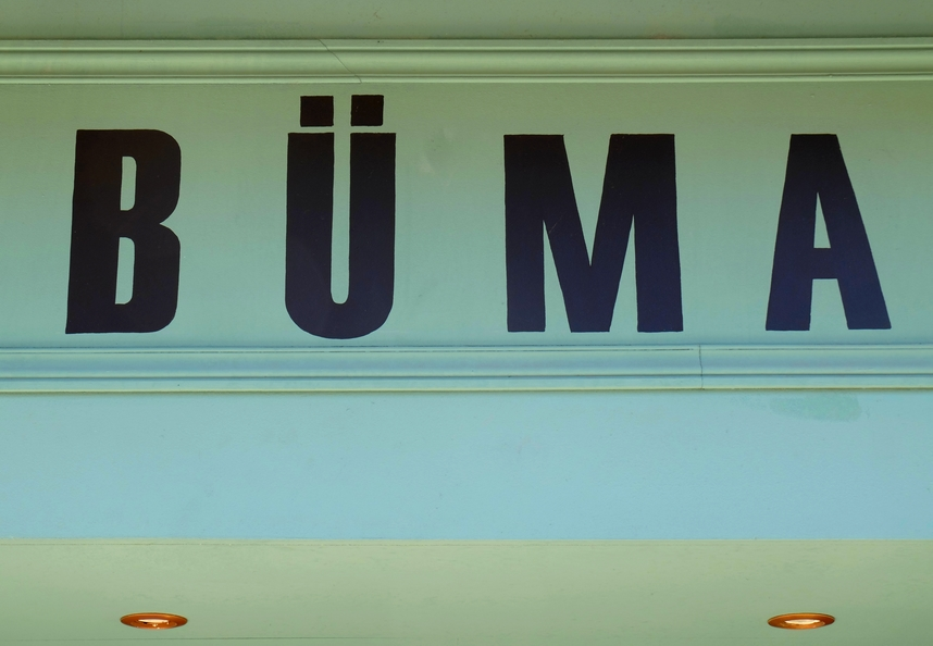 Enseigne du restaurant Büma à Nice