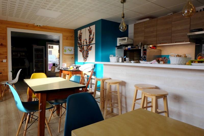 Salle de restauration du Camping Le Cians à Beuil