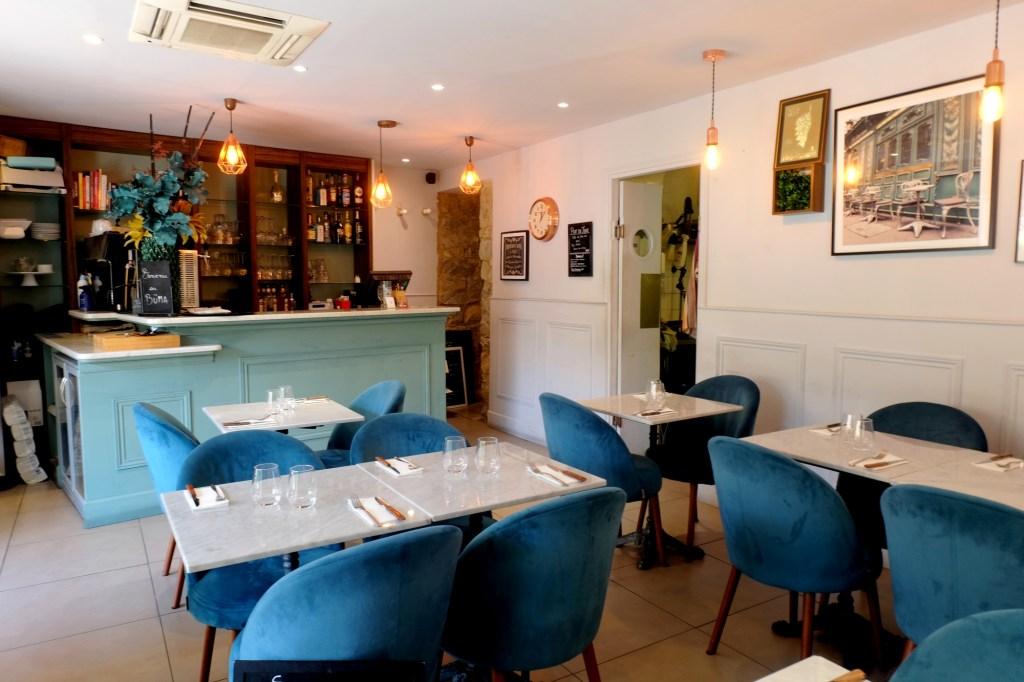 Salle du restaurant Büma à Nice