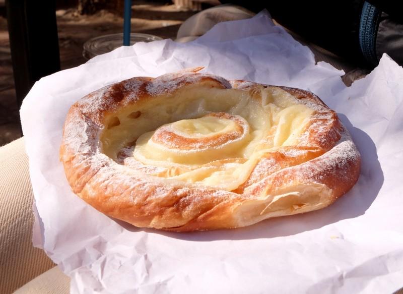 Ensaimadas de la boulangerie Mistral à Barcelone