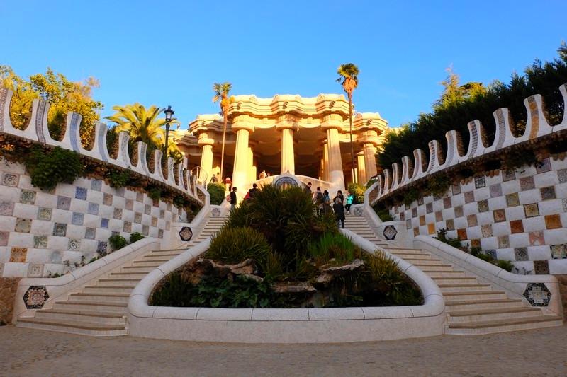 Que faire à Barcelone : visiter le parc Güell