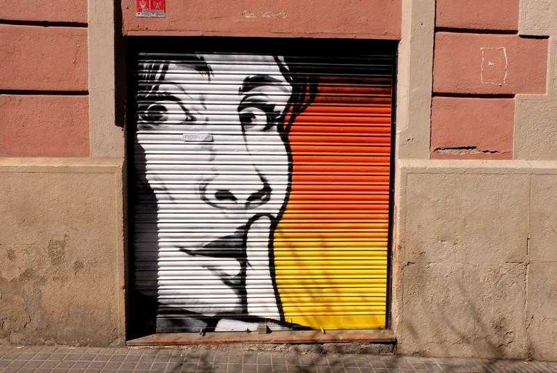 Street-art à Barcelone