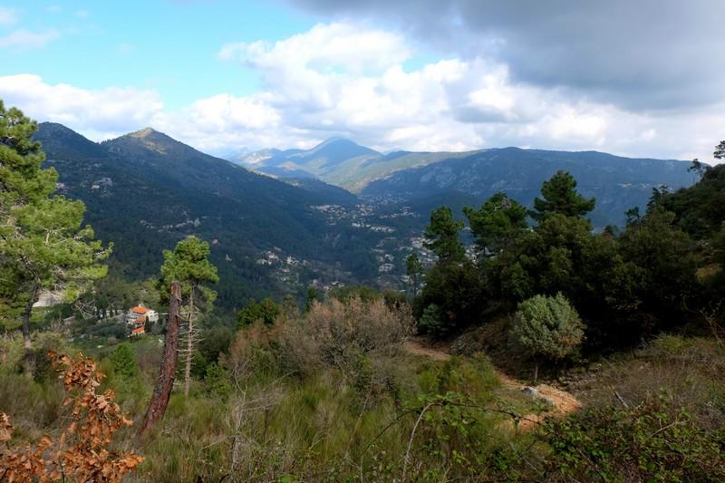 Vue depuis la randonnée du Tour du Mont Chauve