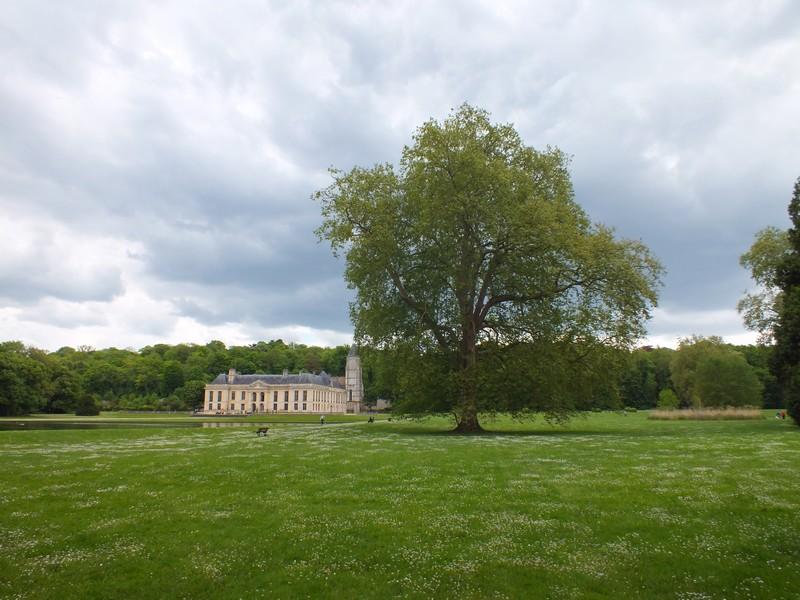 le château de Mery Sur Oise