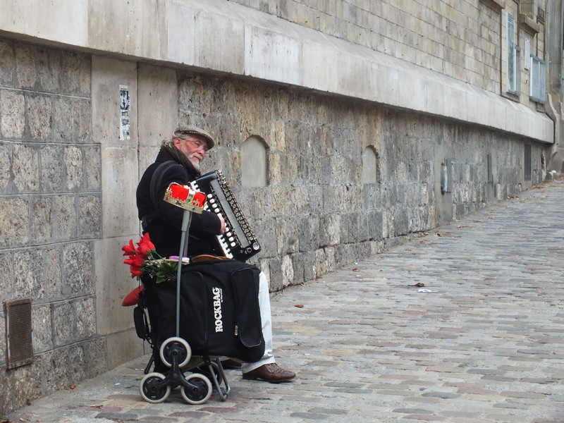Musicien à Montmartre