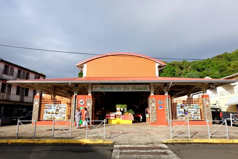 Marché de la Trinité en Martinique