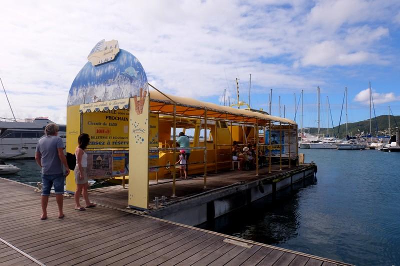 Embarquement pour le Bateau Aquabulle