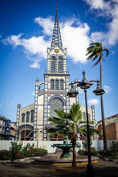 Cathédrale de Fort-de-France en Martinique