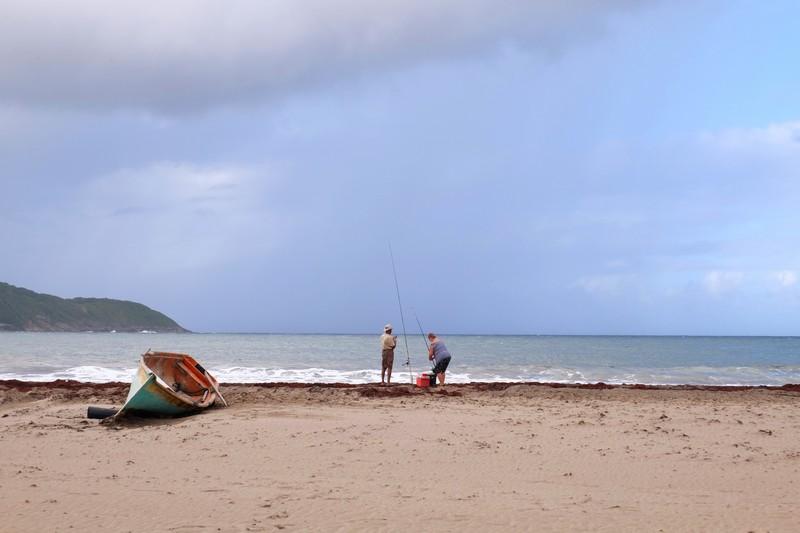 Plage du Tombolo en Martinique