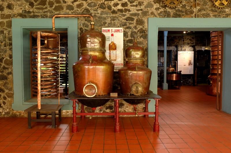 Distillerie Saint-James en Martinique