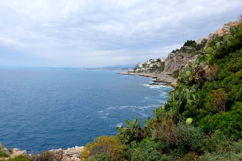 Le Tour du Mont Boron lors d'une randonnée entre Villefranche-sur-mer et Nice