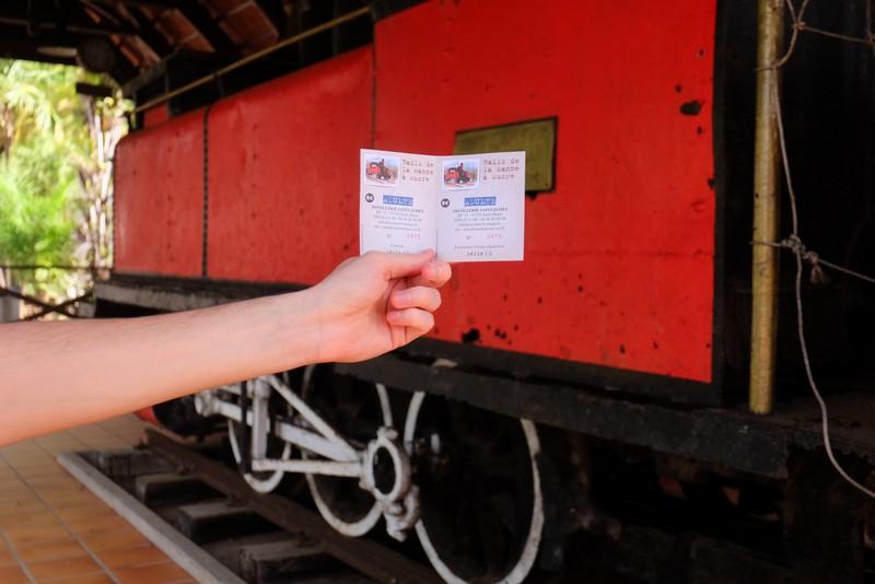Le Train des Plantations à la Distillerie Saint-James