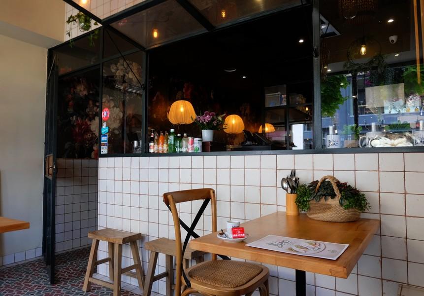 Un restaurant à petit budget à Nice