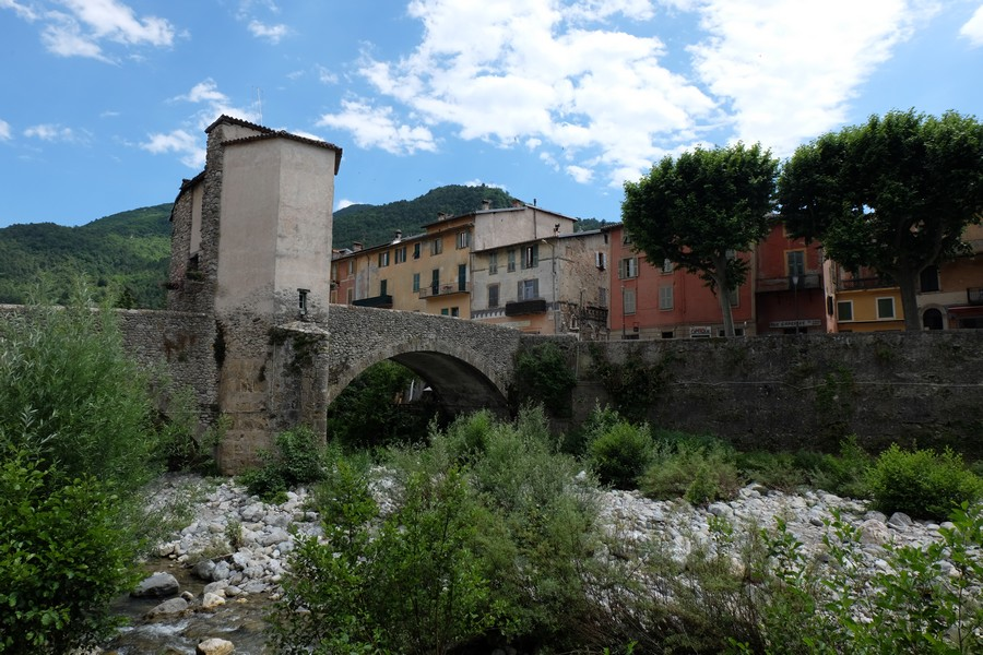 Pont-Vieux à Sospel