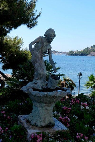 Statue à Beaulieu-sur-Mer