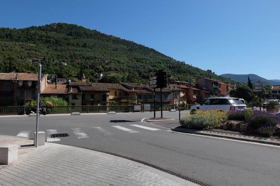 Entrée du village de Sospel