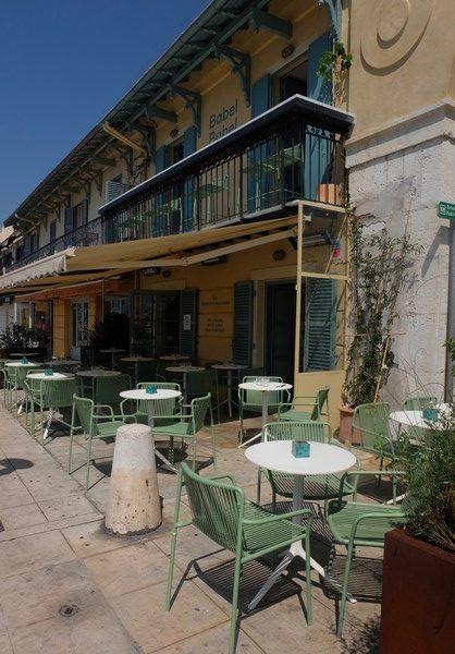Terrasse du Restaurant Babel Babel à Nice