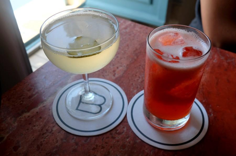 Cocktails près de la Promenade des Anglais à Nice