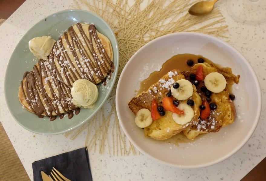 Les pancakes du Maranna Thé à Nice
