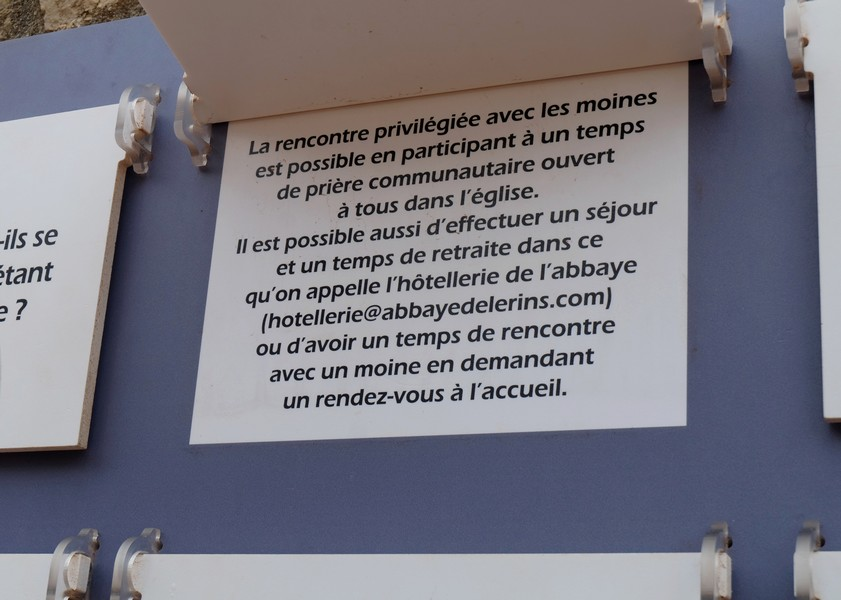 L'Île Saint-Honorat près de Cannes