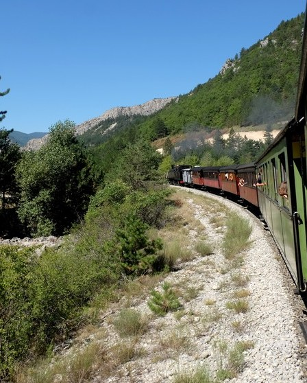 Le Train des Pignes à Nice