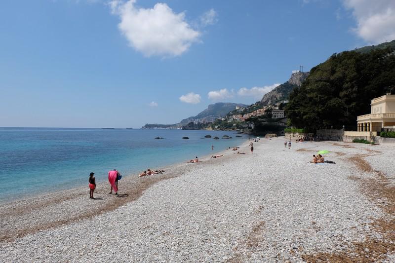 Plage de la Buse à Roquebrune-Cap-Martin