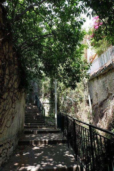 Escalier Saint-Louis pour Roquebrune-Cap-Martin