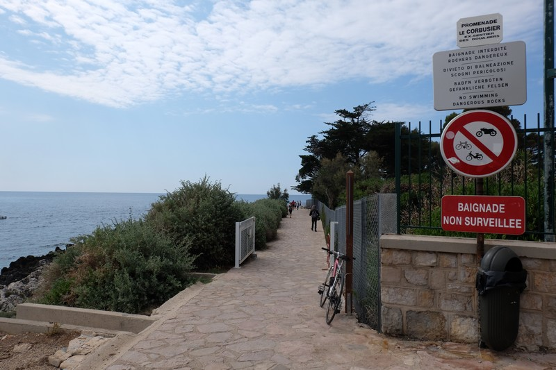Sentier du littoral à Roquebrune-Cap-Martin