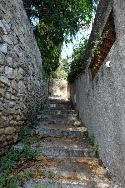 Escaliers de Roquebrune-Cap-Martin