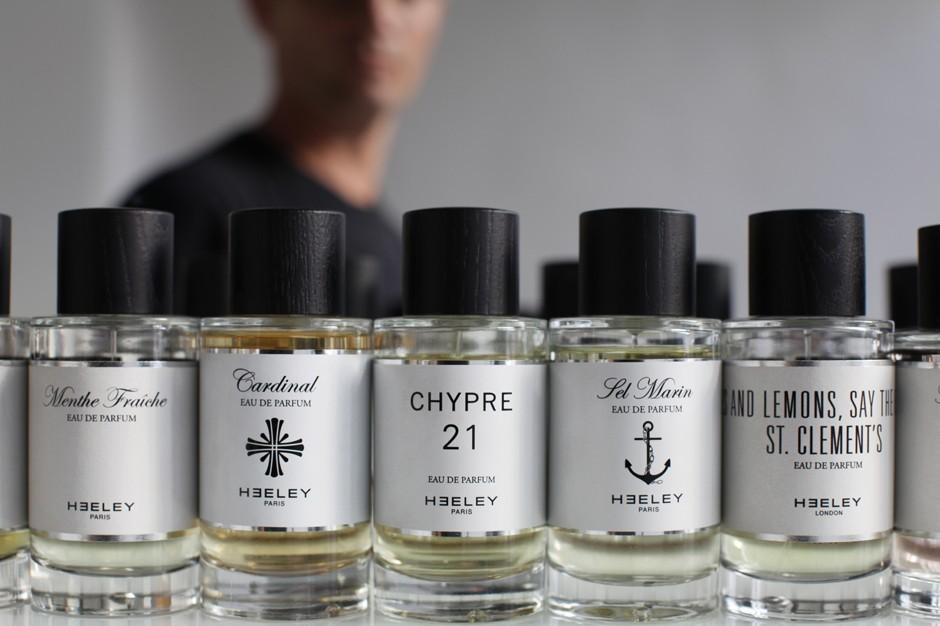 L'Autre Parfumerie Britannique : extrait de la superbe collection de parfums de la marque James Heeley