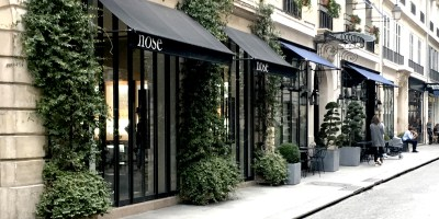 La superbe parfumerie Nose rue Bachaumont à Paris. Notre Avis.
