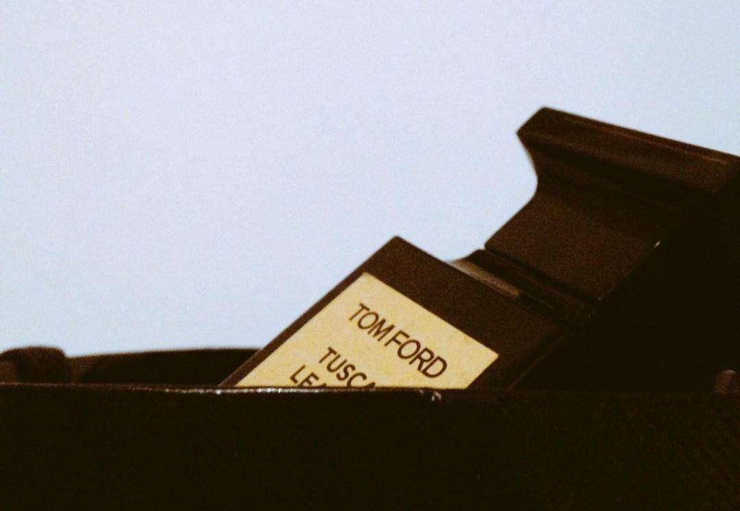 Le Parfum Tuscan Leather de Tom Ford
