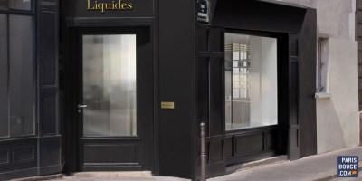 À Paris, rue de Normandie, la parfumerie Liquides Bar à Parfums