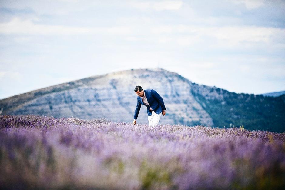 Thierry Wasser à Grasse cherche le grain de lavande idéal pour le prochain Guerlain