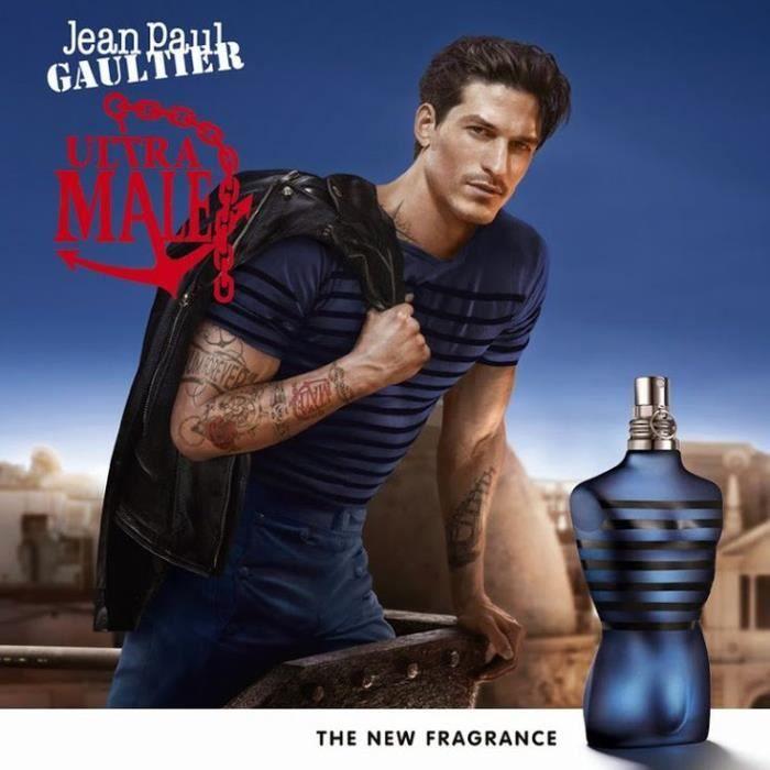 Ultra Mâle flanker d'un des blockbusters des parfums Jean-Paul Gaultier le Mâle pour Homme