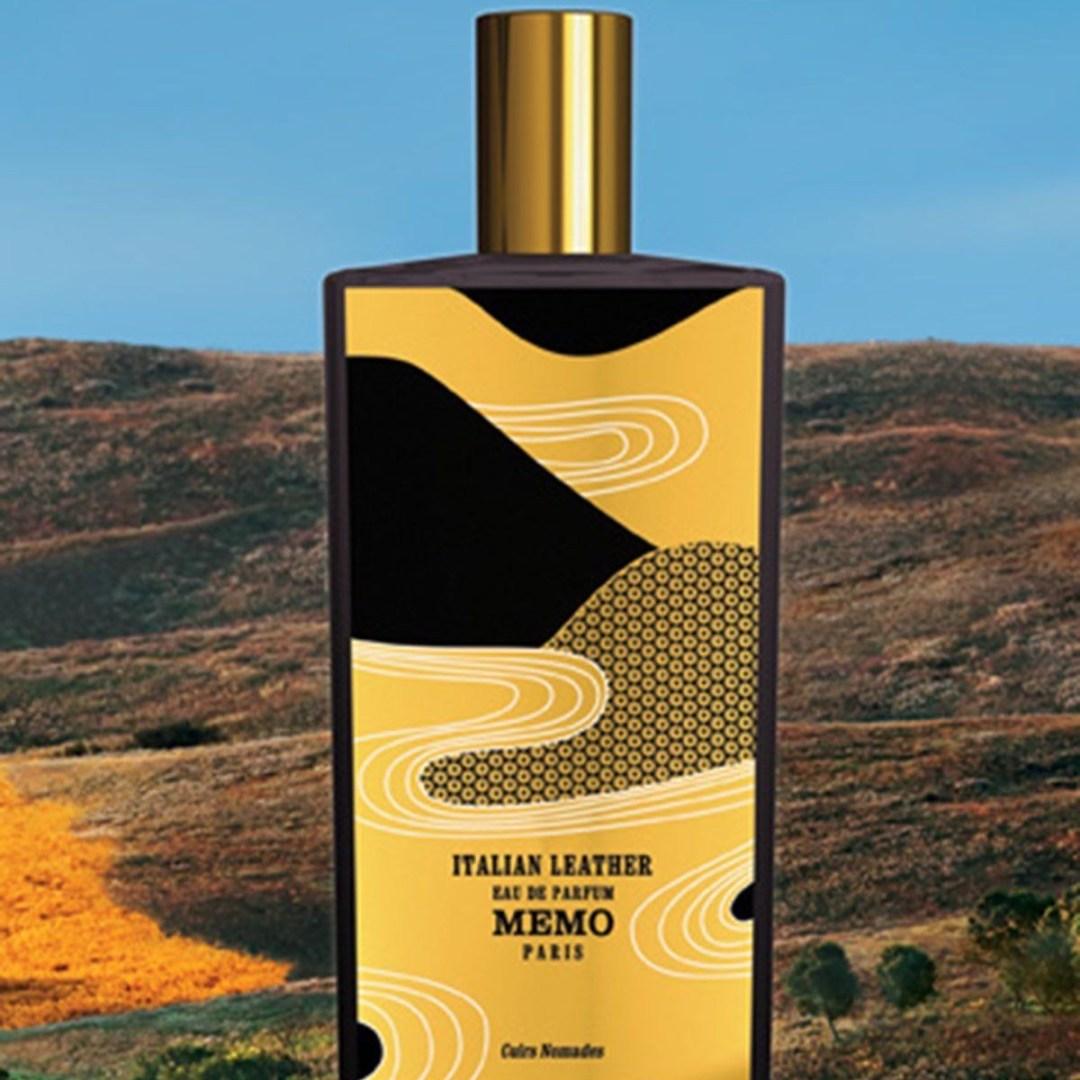 Le flacon du parfum Italian Leather de Memo, notre Avis sur la fragrance.